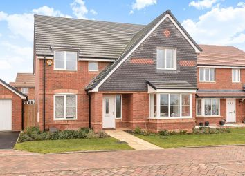 Thumbnail 4 bedroom detached house for sale in Kestrel Way, Didcot
