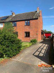 Thumbnail 3 bedroom semi-detached house for sale in West View, Low Row, Cumbria