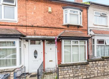 Thumbnail 3 bedroom terraced house for sale in Victoria Road, Handsworth, Birmingham