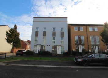 Thumbnail 3 bed town house to rent in Wood Street, Patchway, Bristol