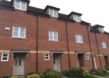 Thumbnail 4 bed terraced house to rent in Charnwood Forester End, Loughborough