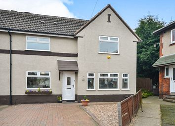 Thumbnail 3 bed semi-detached house for sale in Gladstone Avenue, Blackwell, Alfreton