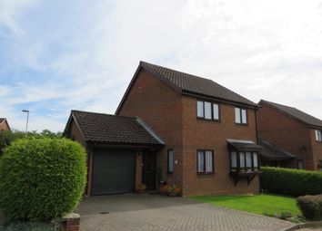 Thumbnail 4 bed detached house for sale in Layer Close, Norwich