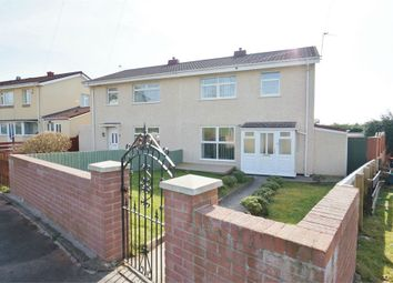 Thumbnail 3 bed semi-detached house for sale in Newton Way, Newport