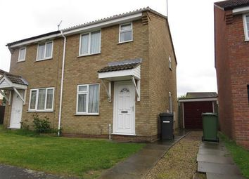 Thumbnail 2 bed semi-detached house to rent in Portsch Close, Carlton Colville, Lowestoft