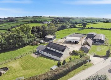 Thumbnail 3 bed equestrian property for sale in Northlew, Okehampton