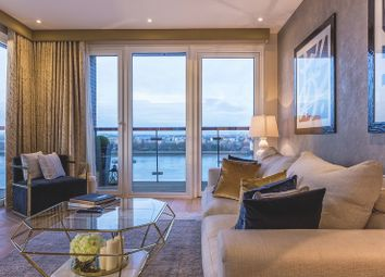 Thumbnail 3 bed flat for sale in Waterfront III, Royal Arsenal Riverside
