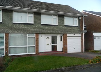 Thumbnail 5 bed semi-detached house to rent in Ashdale Crescent, Chapel House Estate Newcastle