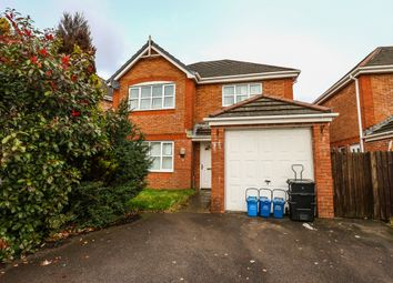 Thumbnail 4 bed detached house for sale in Glynmil Close, Bradley Gardens