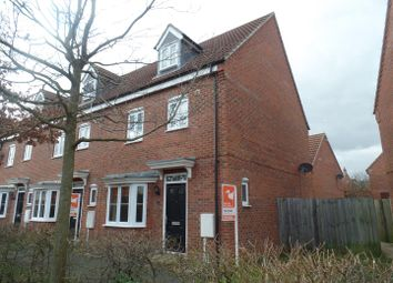 Thumbnail 4 bed town house for sale in Robins Crescent, Witham St. Hughs, Lincoln