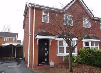 Thumbnail 3 bed semi-detached house for sale in Larkspur Close, Leigh
