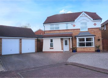 Thumbnail 4 bed detached house for sale in Hornbeam Close, York