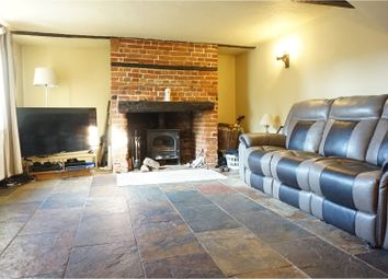 Thumbnail 3 bed detached house for sale in Orford Road, Woodbridge