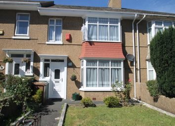 Thumbnail 3 bed terraced house to rent in Saltash Road, Plymouth