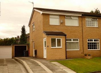 Thumbnail 3 bed semi-detached house for sale in Ivy Green Drive, Springhead, Oldham