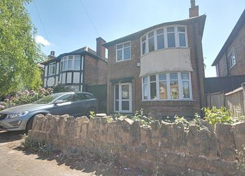 Thumbnail 3 bed detached house for sale in Runswick Drive, Wollaton, Nottingham