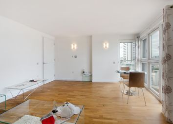 Thumbnail 1 bed flat to rent in New Providence Wharf, London