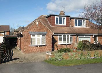 Thumbnail 3 bed semi-detached bungalow for sale in Plompton Way, Harrogate, North Yorkshire