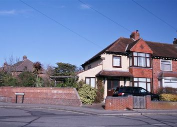 Thumbnail 3 bed semi-detached house for sale in Tudor Crescent, Cosham, Portsmouth, Hampshire