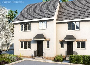 Thumbnail 3 bed end terrace house for sale in The Rowanberry Plot 28, Rowans, Horn Lane, Plymstock, Devon