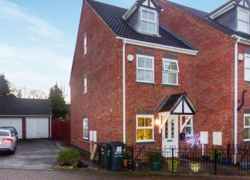 Thumbnail 3 bed semi-detached house for sale in Sandford Road, Syston