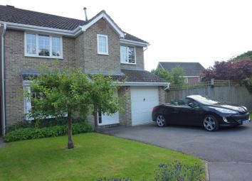 Thumbnail 4 bed detached house to rent in The Meadow, Denmead, Waterlooville