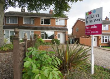 Thumbnail 3 bed semi-detached house for sale in Avon Road, Barrow Upon Soar, Loughborough