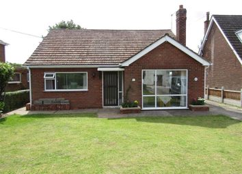 Thumbnail 3 bed detached bungalow for sale in Gainsborough Road, Scotter, Gainsborough