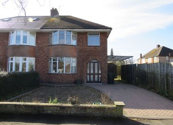 Thumbnail 3 bed semi-detached house for sale in Morson Crescent, Rugby