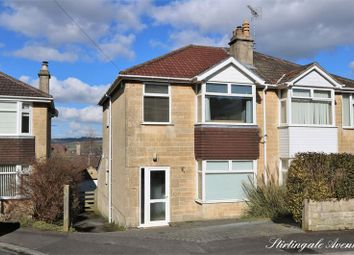 Thumbnail 3 bed semi-detached house for sale in Stirtingale Avenue, Bath