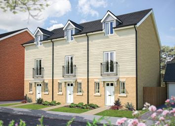 "Thumbnail 3 bedroom town house for sale in ""The Portman"" at Poethlyn Drive, Costessey, Norwich"
