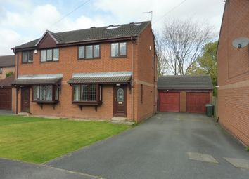 Thumbnail 4 bed semi-detached house for sale in Topcliffe Grove, Morley, Leeds