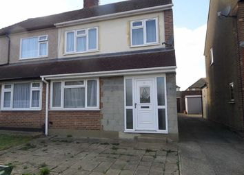 Thumbnail 3 bed semi-detached house to rent in Brockenhurst Drive, Stanford-Le-Hope, Essex