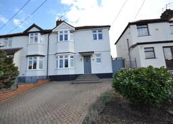 Thumbnail 4 bed semi-detached house for sale in St. James Avenue West, Corringham, Stanford-Le-Hope