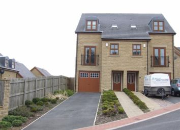 Thumbnail 4 bed semi-detached house for sale in Brambleside, Foster Park, Denholme