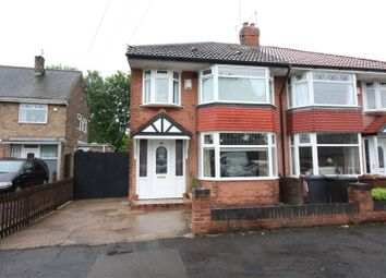 Thumbnail 3 bed semi-detached house for sale in Barrington Avenue, Hull