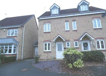 Thumbnail 3 bed semi-detached house for sale in Goodheart Way, Thorpe Astley, Braunstone, Leicester