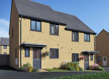 """Thumbnail 3 bed semi-detached house for sale in """"The Eveleigh A"""" at Field Road, Ramsey, Huntingdon"""