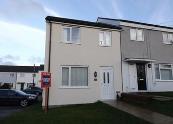 Thumbnail 3 bed end terrace house for sale in St Columb Minor, Newquay, Cornwall