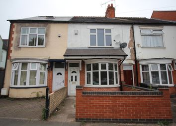 Thumbnail 4 bed town house to rent in Evington Valley Road, Leicester