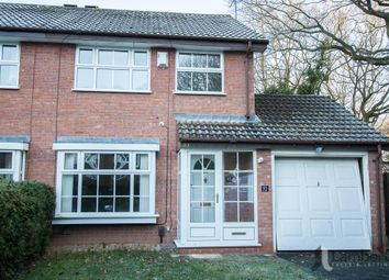Thumbnail 3 bed detached house to rent in Mercot Close, Oakenshaw South, Redditch, Worcs.