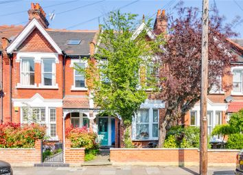 Thumbnail 3 bed flat to rent in Penwortham Road, London