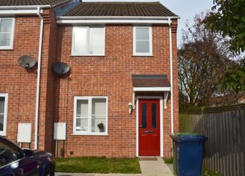 Thumbnail 2 bedroom end terrace house for sale in Coblands, Wisbech