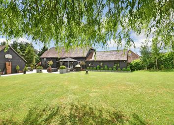 Thumbnail 5 bed barn conversion for sale in Fiddlers Hamlet, Epping, Essex