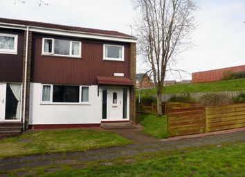 Thumbnail 3 bed end terrace house for sale in Glen Prosen, St. Leoanrds, East Kilbride