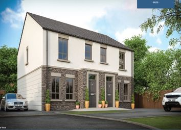 Thumbnail 3 bed semi-detached house for sale in Saintfield Road, Killinchy, Newtownards