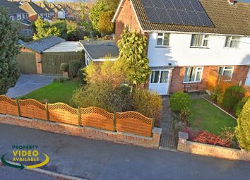 Thumbnail 3 bed semi-detached house for sale in Oakwood Avenue, Wigston Fields, Leicester