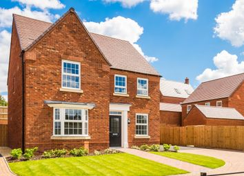"Thumbnail 4 bed detached house for sale in ""Holden"" at Station Road, Langford, Biggleswade"