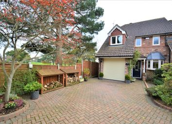 Thumbnail 3 bed mews house for sale in Crofters Close, Pickmere, Knutsford