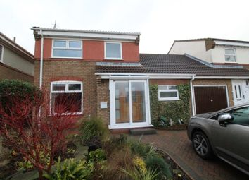 Thumbnail 3 bed semi-detached house for sale in Jackson Close, Cayton, Scarborough